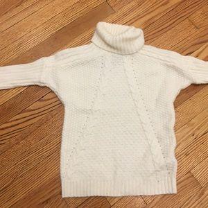 Cyrillus sweater 3T white never worn